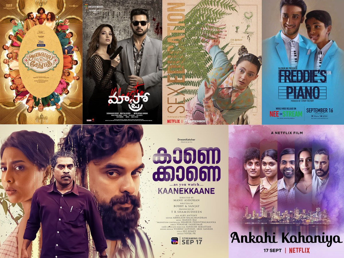 Top 7 Upcoming Movies/ Shows Premiering On OTT This Weekend!